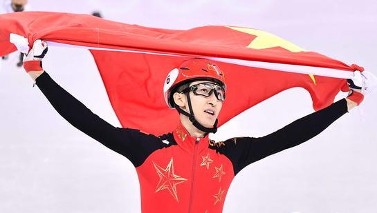 一天两破世界纪录武大靖夺中国代表团平昌冬奥首金
