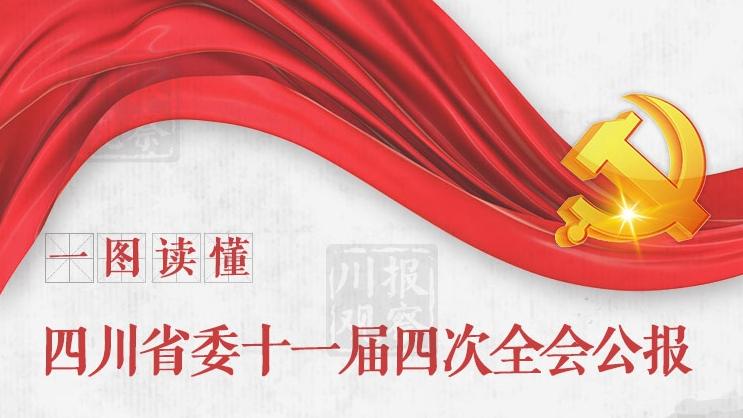 一图读懂:速览四川省委十一届四次全会公报