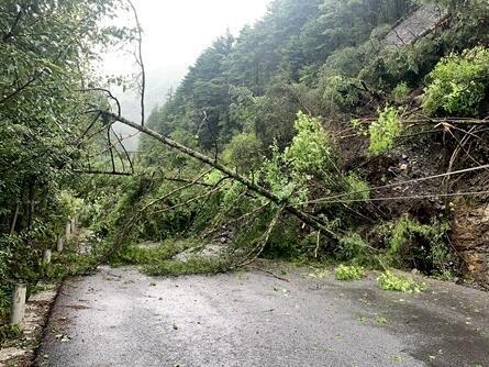 注意!四川省这些道路因雨断道或交通管制通行