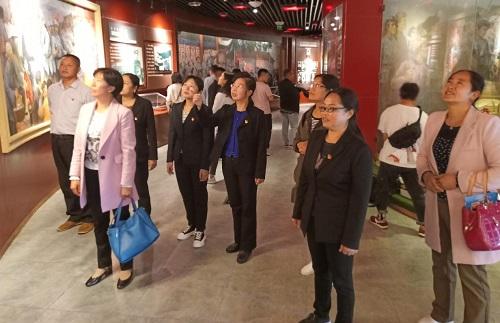 冕宁县总工会开展革命传统教育