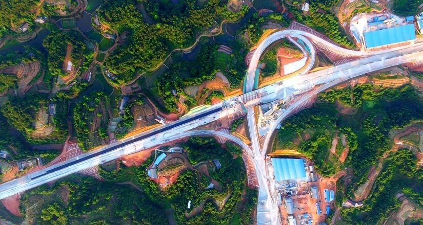 成宜高速好消息!宜宾段主线半幅贯通计划年底通车