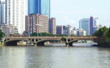 九眼桥的流水时光